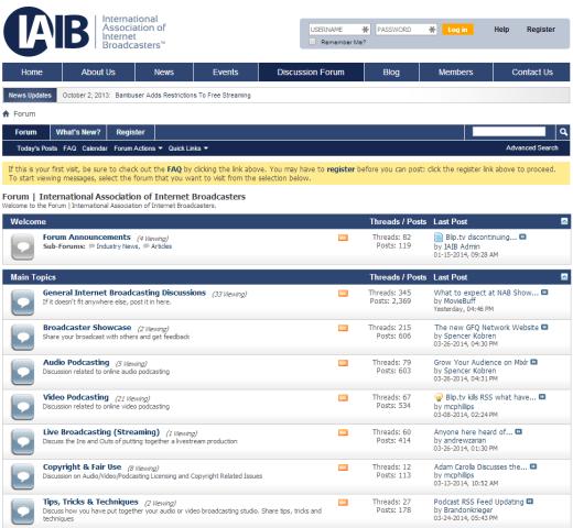 IAIB-forum