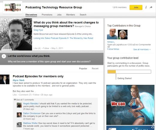 podcast-group-on-Linkedin