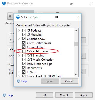 How to Fix Dropbox Sync Problem 2