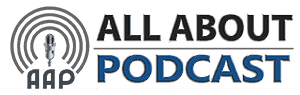 All About Podcast Retina Logo