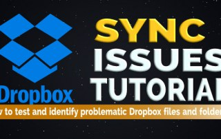 Fix dropbox sync problems