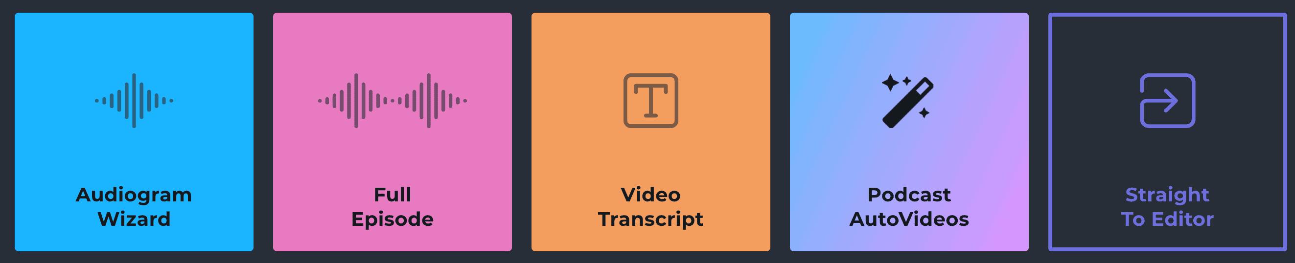 Headliner Video Series - EP1 How to Create Audiogram Video with Headliner Audiogram Wizard 3