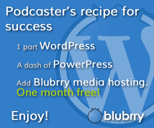 Get One Month Free Blubrry Hosting!