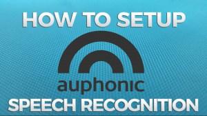 Auphonic speech recognition