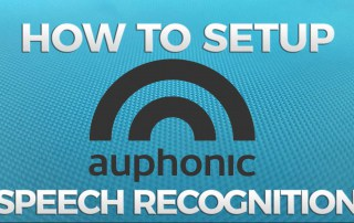 Auphonic speech recognition