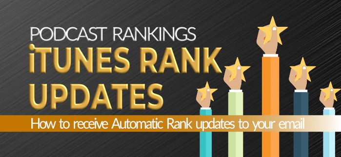 iTunes Podcast rankings